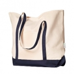 Organic Boater Tote Bag