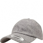 Low Profile Melton Wool Dad Cap