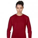 Ladies Combed Ring Spun Fashion Crewneck Sweatshirt