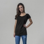 Ladies Wideneck Tee