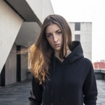 Ladies Cuff Pockets Hoody
