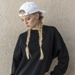 Ladies Oversize Crewneck