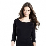 Women´s 3/4 Sleeve Stretch T-Shirt