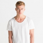 Men´s Raw Scoop T