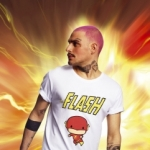 Merchcode - The Flash Comic Tee