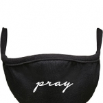 Pray Wording Face Mask