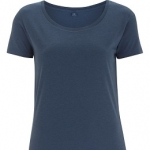 Women´s Bamboo Open Neck T-Shirt