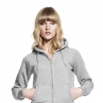 Women´s Zip-Through Hooded Sweatshirt