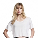 Women´s Oversized Cropped Top T-Shirt