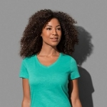 Sharon Slub V-Neck