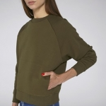 Stella Believes - High Collar Sweatshirt