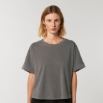 Stella Collider Vintage - The Womens Garment Dyed Rolled Sleeve T-Shirt