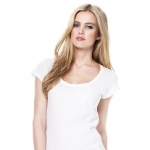 Continental Clothing - Women´s Tencel Blend Sheer Jersey T-Shirt