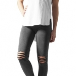 Ladies Cutted Knee Leggings