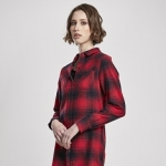 Ladies Check Shirt Dress