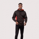 Two Tone Hooded Sweatshirt